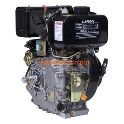 LIFAN Двигатель Lifan Diesel 178FD D25, 6A. Вид 2