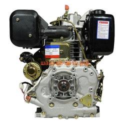 Двигатель Lifan Diesel 186FD D25, 6A, øлицевой вал. Вид 2