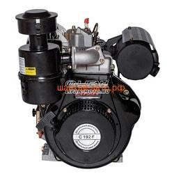 Двигатель Lifan Diesel 192F D25 (конусный вал). Вид 2