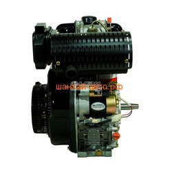 Двигатель Lifan Diesel 192FD D25, 6A (конусный вал). Вид 2