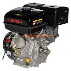 Двигатель Loncin G420F (I type) D25.4. Вид 2