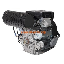 LIFAN Двигатель Lifan LF2V78F-2A (24 л.с.) D25, 20А, датчик давл./м, м/радиатор. Вид 2