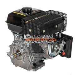 Двигатель Lifan192F-2 D25 7А. Вид 2