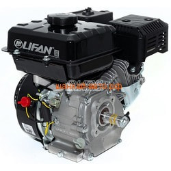 Двигатель Lifan 170F-T D20, 3А