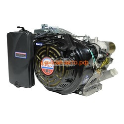 LIFAN Двигатель Lifan 192F-2D конусный вал короткий 54,45 мм (с колоколом, без б/б)