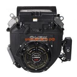 LIFAN Двигатель Lifan LF2V78F-2A (24 л.с.) D25, 20А, датчик давл./м, м/радиатор