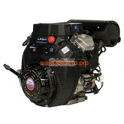 LIFAN Двигатель Lifan LF2V80F-A, 29 л.с. D25, 20А, датчик давл./м, м/радиатор, счетчик моточасов