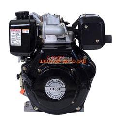 Двигатель Lifan Diesel 186F конусный вал