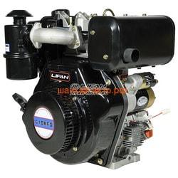 Двигатель Lifan Diesel 188FD D25, 6A øлицевой вал